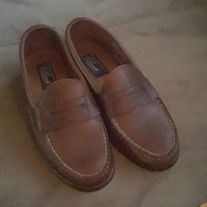 Cole Haan hand stitched loafers